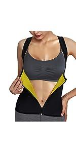zipper waist trainer