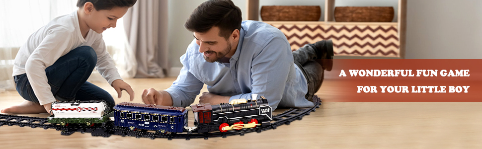 Kids Train Toys Set