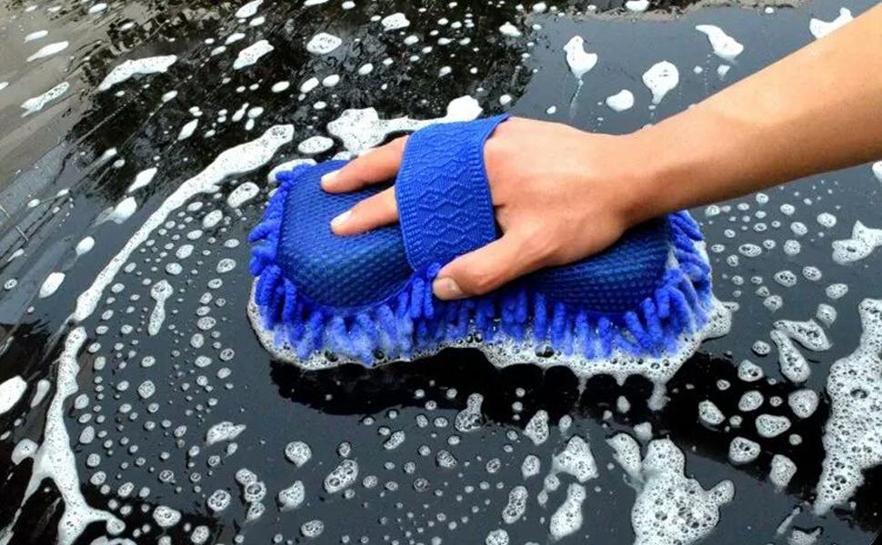 Car wash gloves