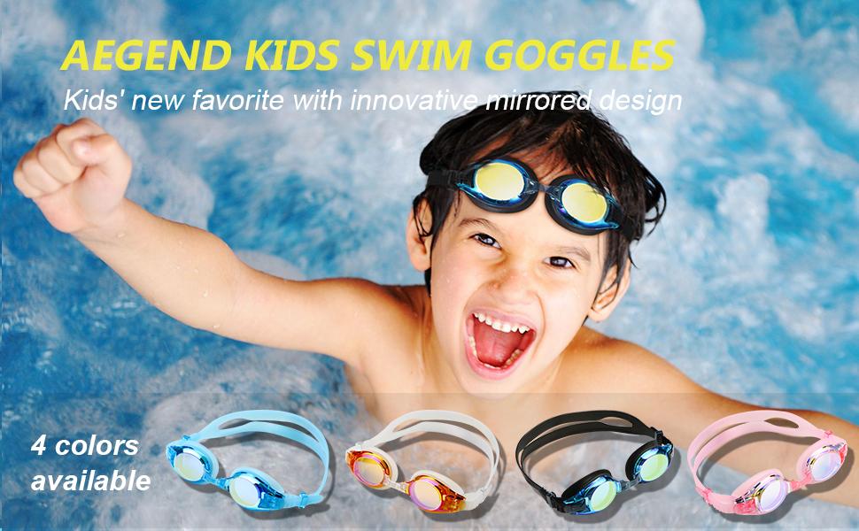aegend kids swim goggles