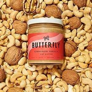 butterfly cinnamon vanilla nut butter