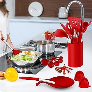 silicone kitechen utensils