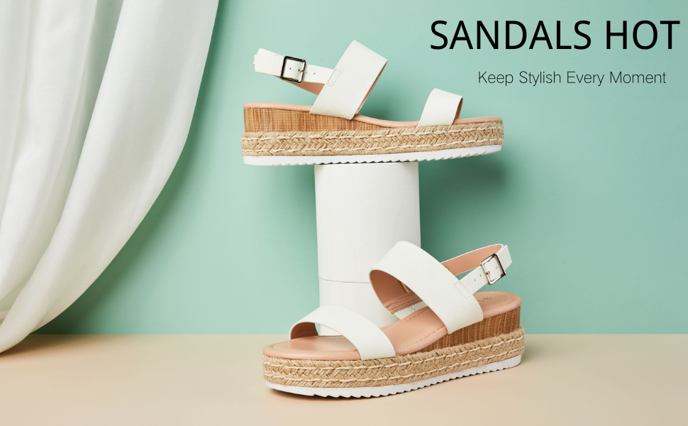 wedge platfrom espadrilles for women