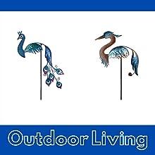 balancers, garden, spinners, wind chimes, solar lights, sun catchers