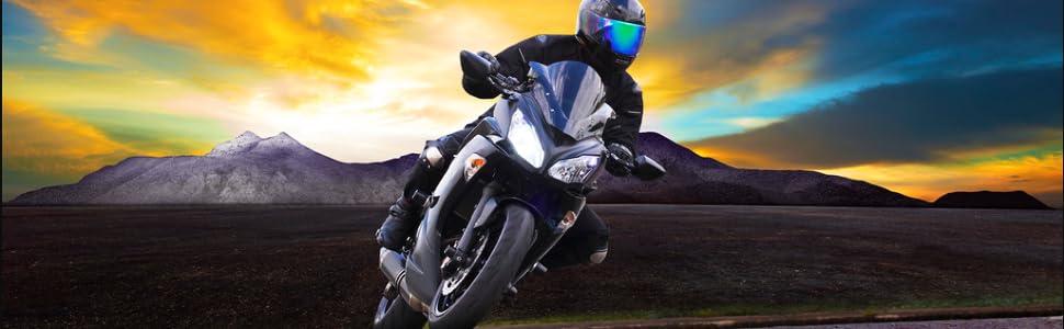 Kimiss M10x1 25mm Motorrad Hauptbremszylinder Bremssattel Bremssattel Entlüftungsschraube Nippel Banjo Schraube Staubkappe Blau Auto