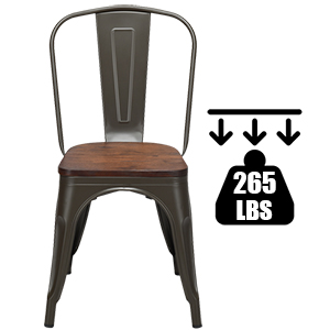 Tolix Style Dining Chairs