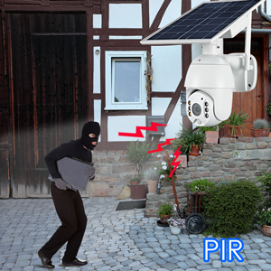 PIR motion detection