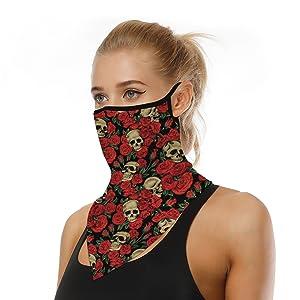 Bandana Face Mask Scarf Face Rave