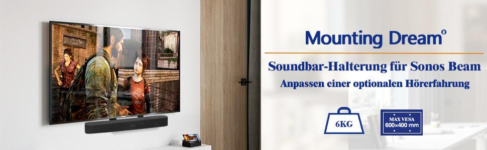 Mounting Dream Soundbar Bracket For Sonos Beam For Elektronik