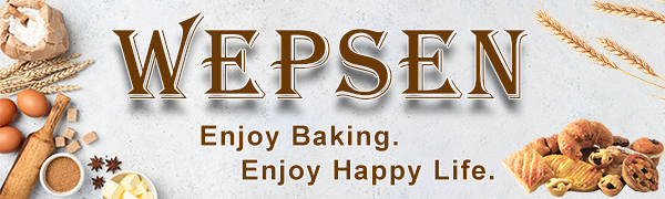 WEPSEN Enjoy Baking Life of Baking Set