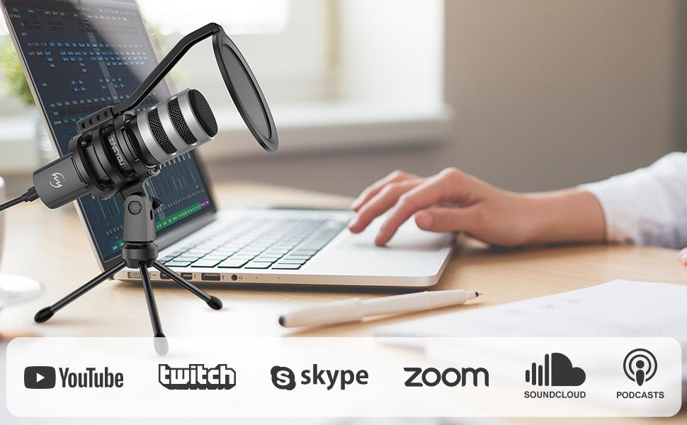 zingyou usb computer microphone