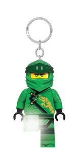 LEGO Ninjago Legacy Lloyd Minifigure Key Light keychain Ninja