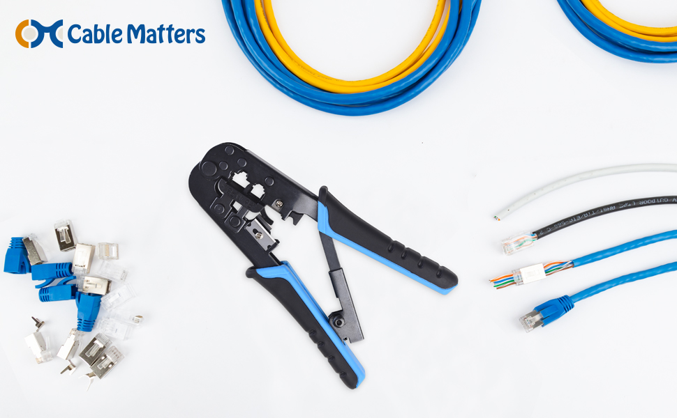 Cable Matters Modular Crimping Tool
