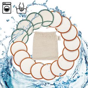 Almohadillas Desmaquillantes, TURATA 16Pcs Almohadillas de algodón ...