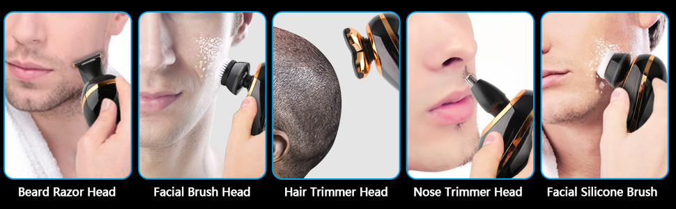 4 in 1 electric shaver for men