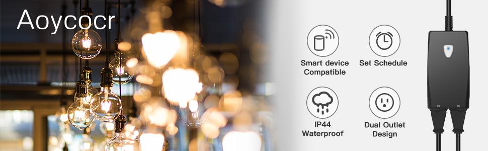smart plug outdoor