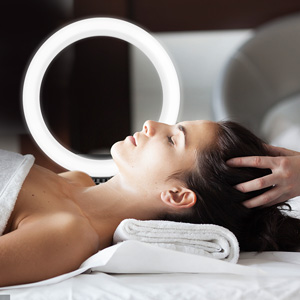 Beauty Salon Circle Light