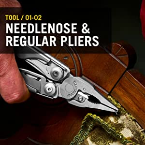 Needlenose Pliers, Regular Pliers, Leatherman, Leatherman Surge, Multitool, Multipurpose Tool