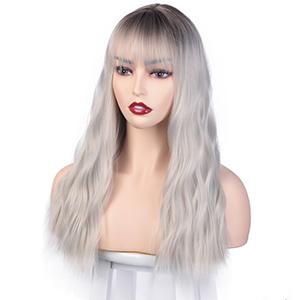loose wavy wig