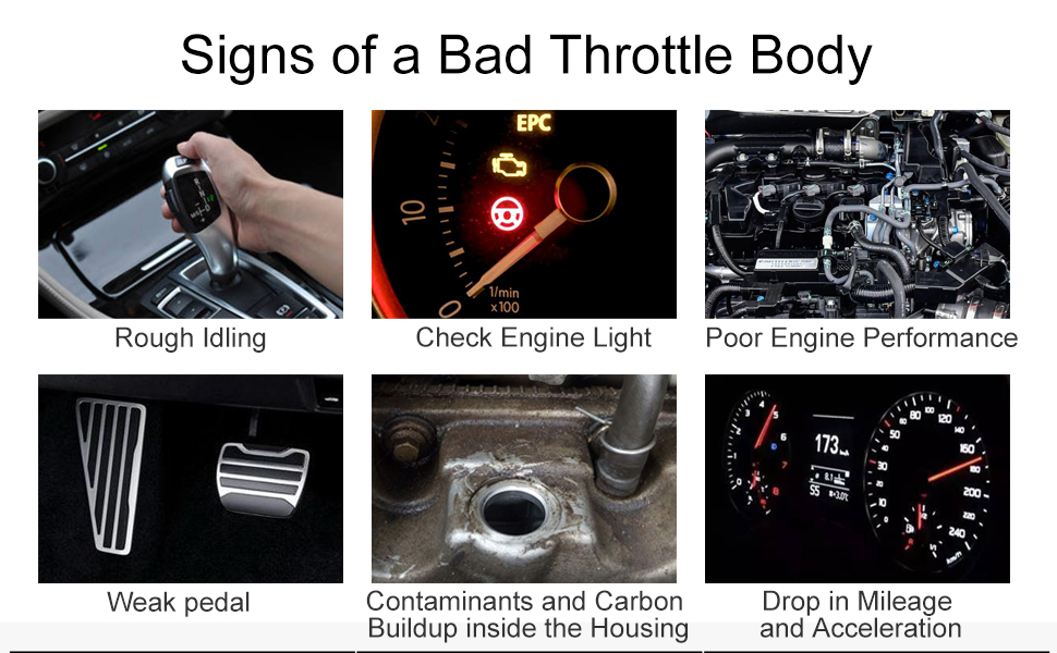 Signs of a Bad Throttle Body
