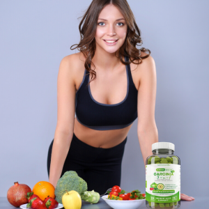 Woman with Garcinia 3-in-1
