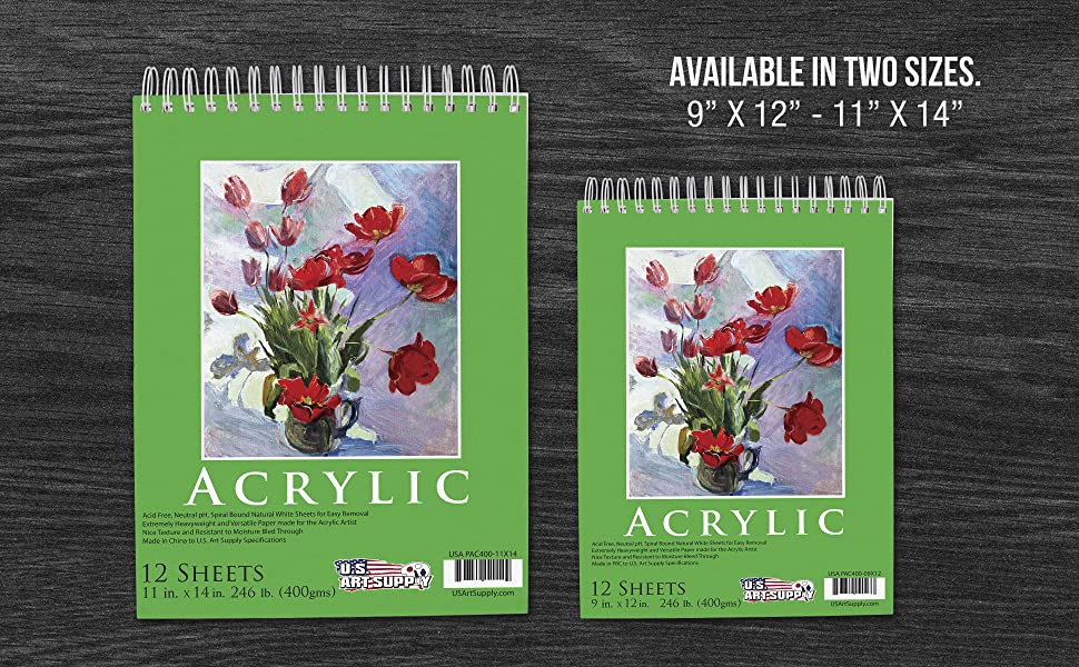 9 x 12 Original Hand Painted Art Uncommon Love Series Watercolor Unframed Premium Thick Paper