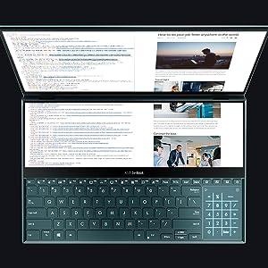 ScreenPad Plus for Programmers