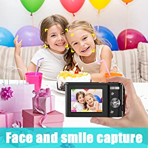 Face and smile capture