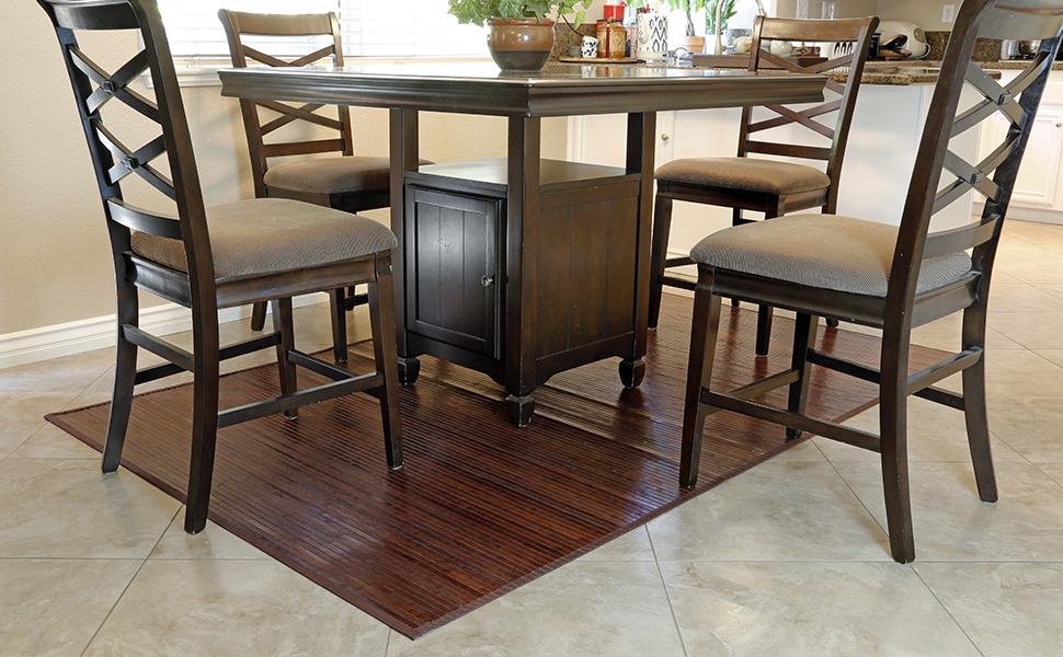 clevr wood grain mat
