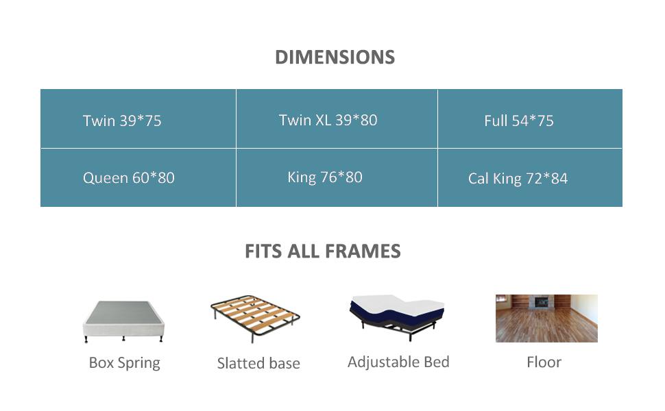 twin xl size mattress green tea gel memory foam mattress in a box narrow twin xl mattress medium