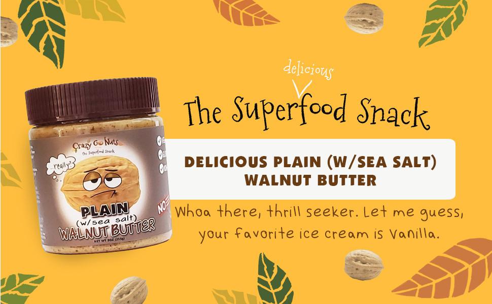crazy go nuts walnut butter almond peanut gluten free non-gmo keto friendly low carb organic natural