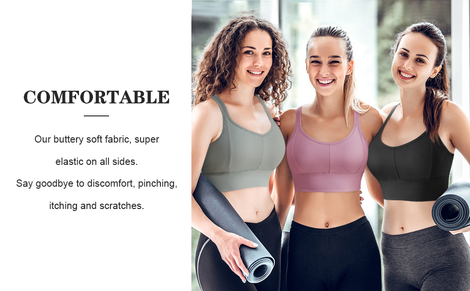 Women's Racer Vest Sports Bra-Padded seamless high impact support suitable for yoga gym exercise