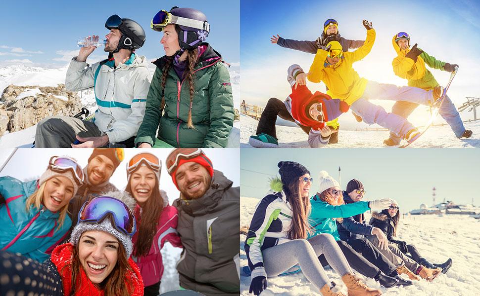 ski with feeling