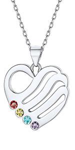 custom birthstone necklace