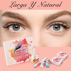 Luckyfine Kit de Permanente de Pestañas, Eyelash Perm Liquid Eyelash Wave - Herramientas de Maquillaje Curling de Pestañas, Lash Lift Long Lasting, ...