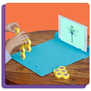 Magnetic Gameboard Board App based Stem AR Augmented Reality Learning Educational Calculation