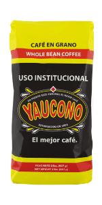 roasted coffee beans whole yaucono medium roast puerto rico