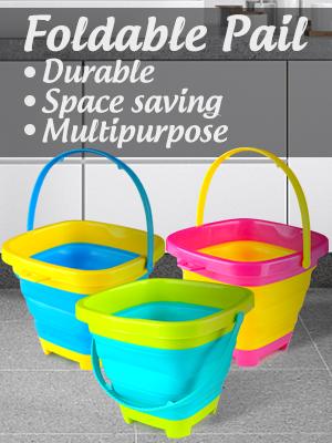 3PCS Foldable Bucket