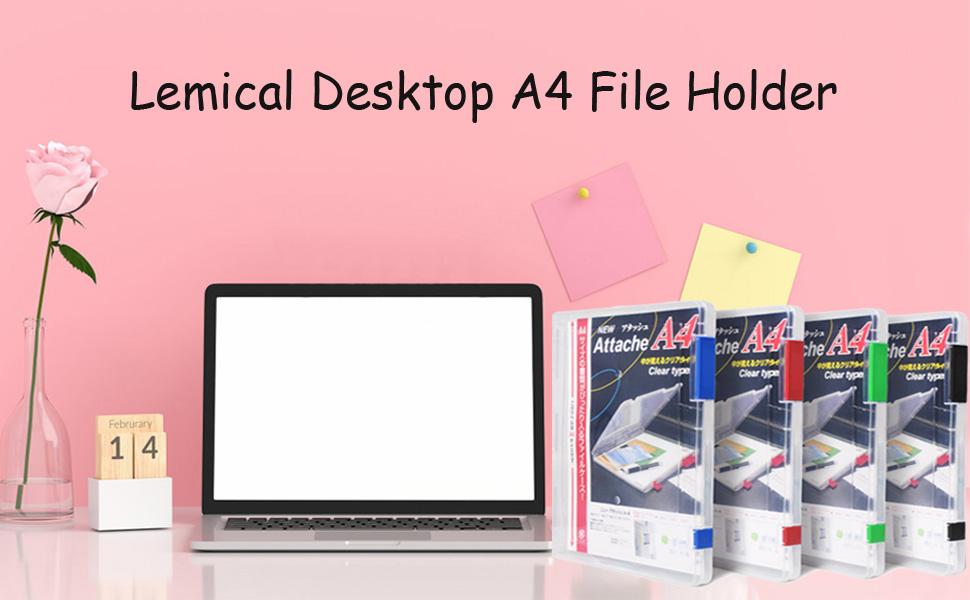 magazine file organizer holder folder storage box transparent file organizer paper book notebook pen