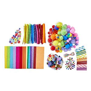 rainbow craft kit contents