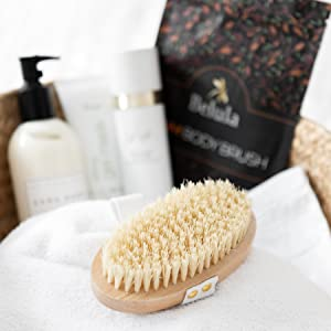 dry brushing body brush dry brush shower brush body scrubber bath brush konjac sponge exfoliator