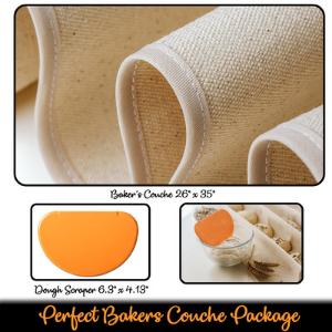 linen proofing cloth couche bread bread linen cloth bread cloths bakers linen