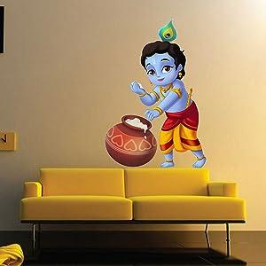 krishna wall stickers