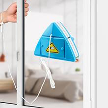 Brosse de Nettoyage pour vitres Double Face, Lave Vitre Magnétiqu Double Latérale Magnétique