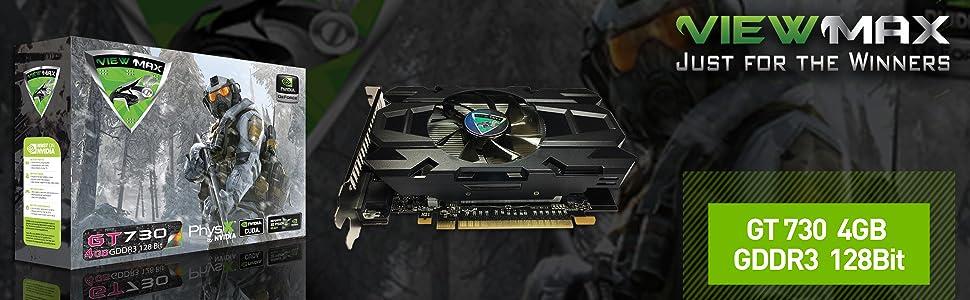 ViewMax GeForce GT 730 4GB