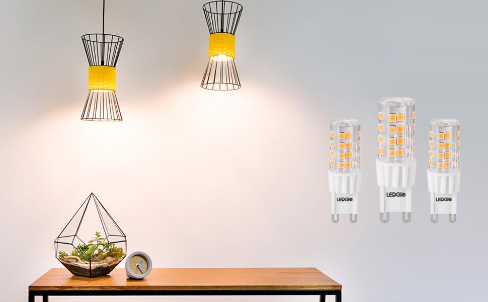 6W G9 LED-lampen
