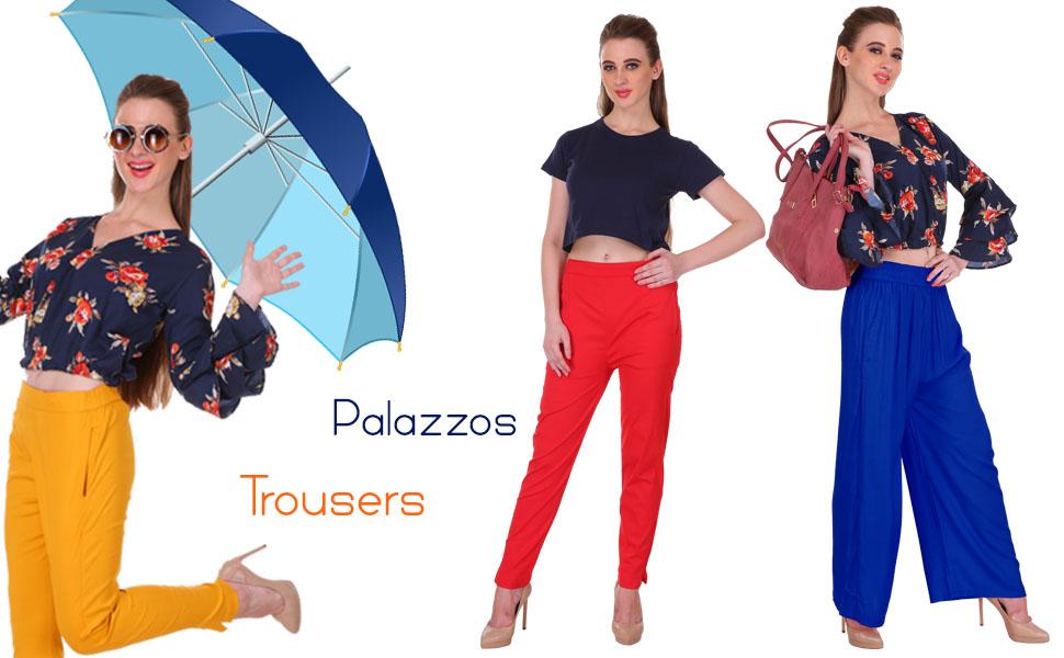 Saundarya Trousers and Palazzos