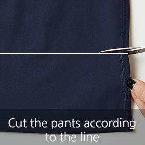 cut the pants