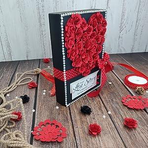 Love Scrapbook handmade