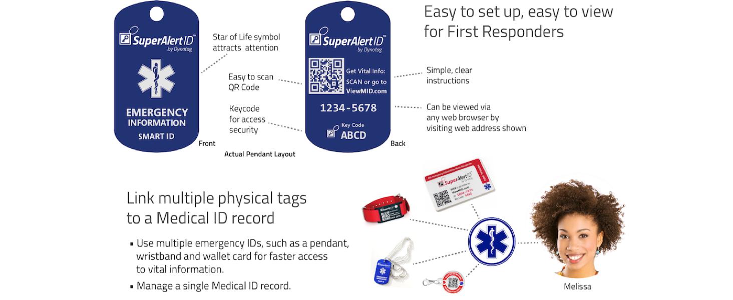 SuperAlert MedID Emergency